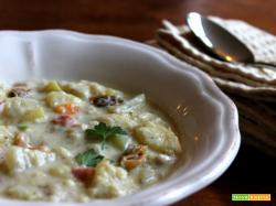 Boston clam chowder (zuppa di vongole)