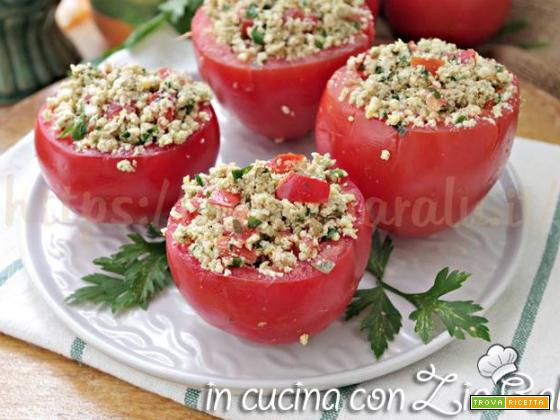 Pomodori ripieni di uova e capperi – ricetta estiva