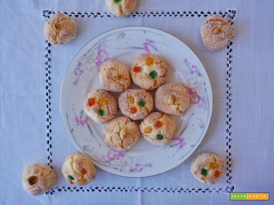 Biscotti alle mandorle di Gaia