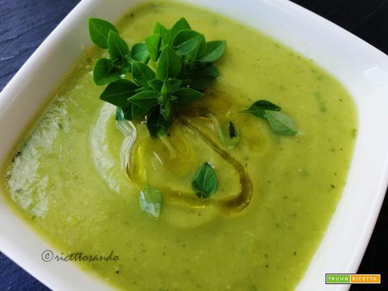 Crema zucchine e basilico