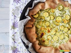 Galette zucchine e quark