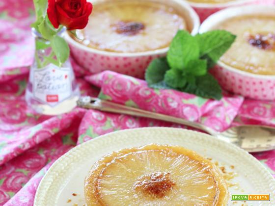 Tortine rovesciate all'Ananas caramellato