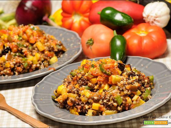 Padellata di verdure dell'orto gluten free