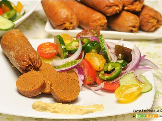 Salsicciotto vegan gluten free con ingredienti buoni