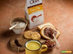 Fette biscottate con confettura di lamponi, golden milk e frollini con fonio