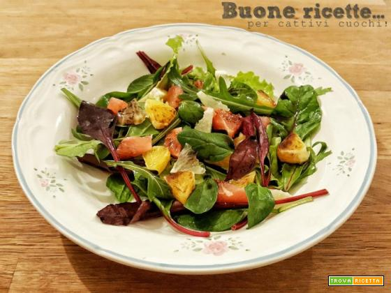 Insalata di agrumi e Aceto Balsamico