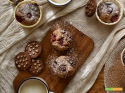 Muffin lamponi e Pan di stelle