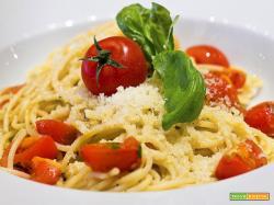 Spaghetti estivi : Ricetta veloce per pranzo