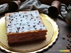 Millefoglie alla crema caffe'e cioccolato