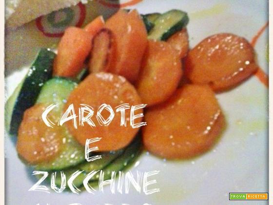 CAROTE E ZUCCHINE AL BURRO