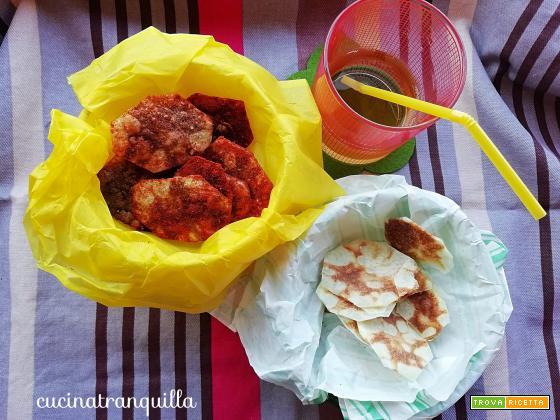 Chips di patate al microonde (con e senza spezie)