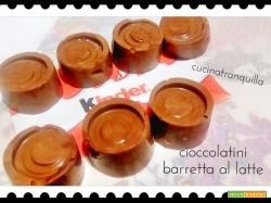 Cioccolatini barretta al latte