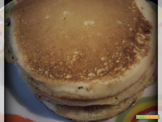 Pancake soffici all'americana