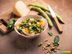Insalata di fave, pecorino e uova: semplice e nutriente!