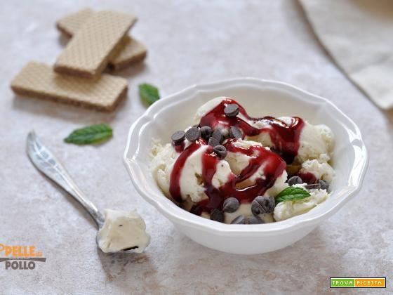Gelato  furbo senza gelatiera alla vaniglia