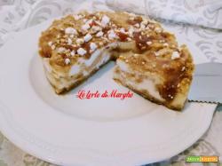 Torta Polvitos delle Canarie con panna meringa e dulce de leche