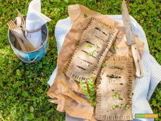 Torta salata con ortiche e nocciole, una vera novità!