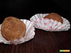 Tartufi leggeri cioccolato e avocado – 2 ingredienti