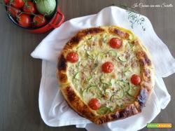 Quiche alle zucchine e tonno – ricetta salvacena
