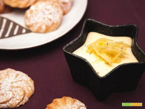 La particolare dolcezza della bavarese al latte e zenzero