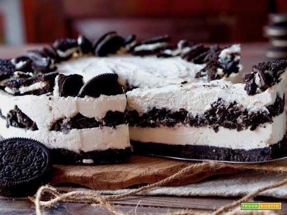 Torta Oreo Senza Cottura