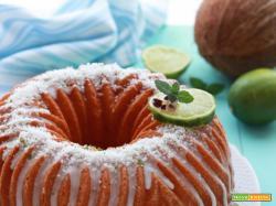 Bundt Cake al Cocco e Lime
