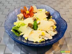 Caesar Salad con Companion Moulinex