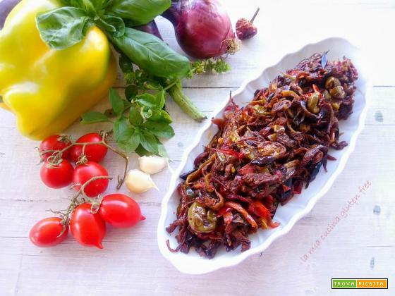 Caponata siciliana di verdure