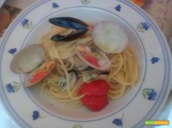 "Spaghetti con  ""a fasulara"""