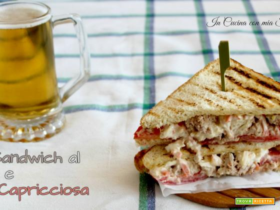 Club Sandwich al Tonno e Salsa Capricciosa