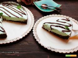 Torta Fredda menta e cioccolato