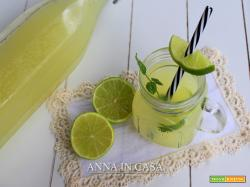 Lemon soda fatta in casa