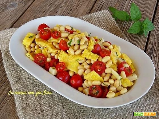 Insalata di soia gialla ricetta facile