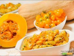 Gnocchi di zucca Butternut e pomodorini gialli