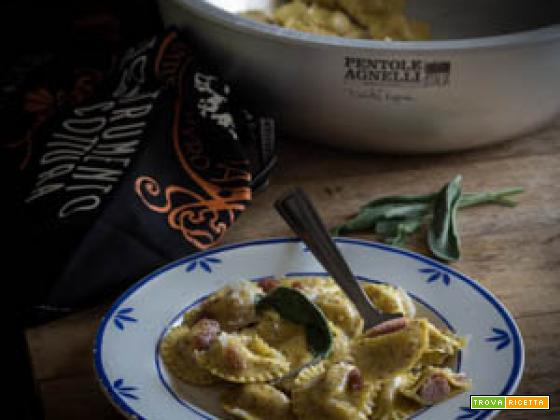 """Ravioli saraceni con bresaola """"I Primi D'italia"""""""