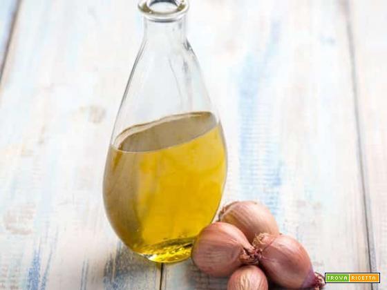 Olio aromatizzato allo scalogno, un aroma che c'è, ma non si vede
