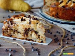 Torta Yogurt, Pere e Cioccolato