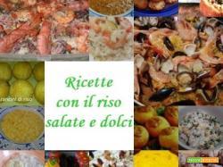 Ricette con il riso salate e dolci