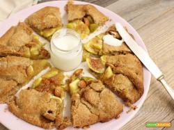 Fig & Almond Vegan Galette (Crostata rustica Fichi e Mandorle)
