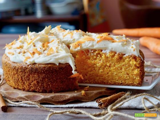 Torta di Carote-Carrot Cake