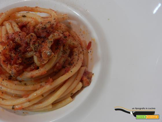 Bucatini alle vongole…