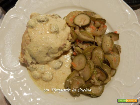 Sovracosce di pollo curry ed olive taggiasche…