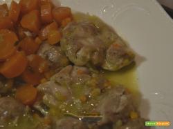 Sovracosce di pollo e carote in umido…