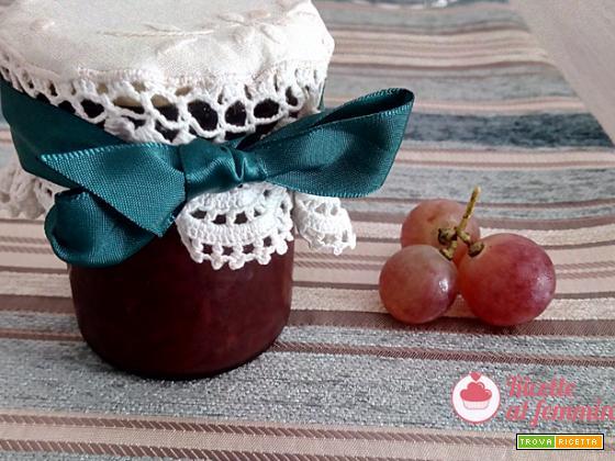 Marmellata d'uva con il bimby