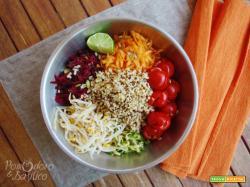 Insalata Estiva Bulgur e Quinoa