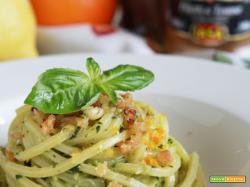 IASA Experience: Spaghetti con pesto agli agrumi e tonno