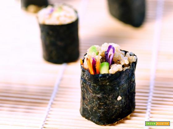 sushi di quinoa