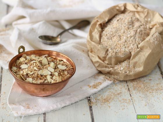 Come riciclare la crusca di grano