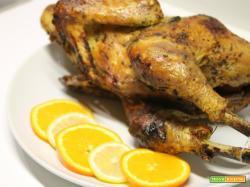 Pollo arrosto agli agrumi