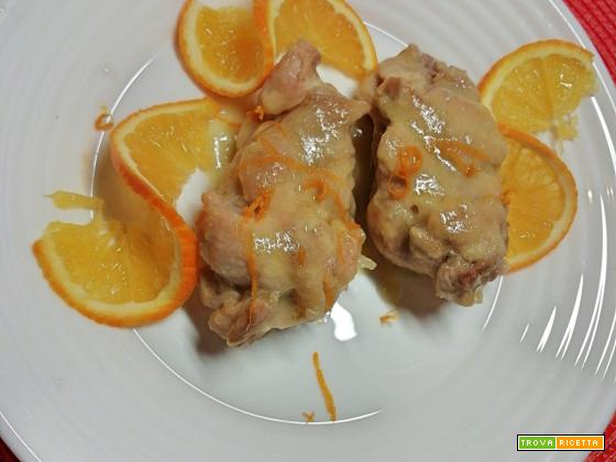 Bistecchine di pollo all'arancia